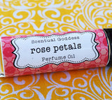 Rose Petals Perfume Oil Handmade by Scentual Goddess