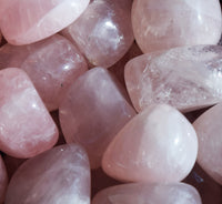 ROSE QUARTZ Stone - Pink Quartz Crystal of Unconditional Love / Self Love
