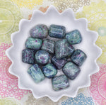 RUBY FUCHSITE Crystal - Green & Pink Heart Chakra Stone