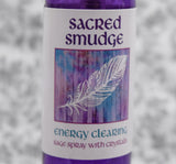 SACRED SMUDGE SPRAY - Energy Clearing Liquid Sage Mist for Quickly Smudging Your Home, Office or Car