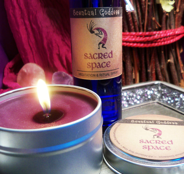 SACRED SPACE SET - Create Sacred Space For Ceremonies Meditation or Special Rituals - Kokopelli