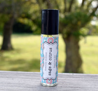 SAGE & CITRUS Perfume - Fresh Green Sage Mixed with Tangy Citrus Fruit