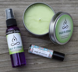 SAGE & CITRUS Candle - Fresh Green Sage Mixed with Tangy Citrus - Relaxing & Refreshing