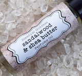 SANDALWOOD & SHEA BUTTER Perfume - Soothing Blend of Sandalwood with Creamy Shea Butter
