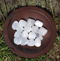 SELENITE Crystal - Calm & Peace, Moon Energy Stone of Goddess Selene