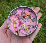 SELF CARE Candle - Self Love & Well-Being - Handmade Intention Candle for Focusing on Self Care