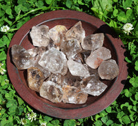 SMOKY QUARTZ Raw Crystal Chunk - Grounding Root Chakra Stone