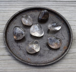 SMOKY QUARTZ Crystal Grounding Stone - Celtic Symbol of Protection & Prosperity
