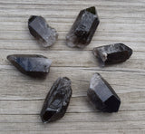 SMOKY QUARTZ Crystal Point - Large Natural Smoky Quartz Point