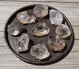 raw smoky quartz crystal