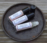 OAK & VANILLA Perfume - Earthy Oak Wood Sweetened with Vanilla