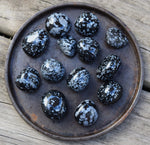 SNOWFLAKE OBSIDIAN Catalyst for Change Stone - Let Go of Old Habits & Make Positive Changes