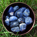 SODALITE Mental Clarity Stone, Study Buddy, Meditation Crystal