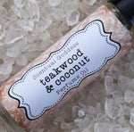 TEAKWOOD & COCONUT Perfume - Tropical Teak Driftwood Sweetened with a Little Coconut