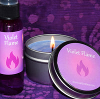 Violet Flame Meditation Set