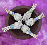 White Sage Smudge Stick - Small Torch Style White Sage Stick for Smudging