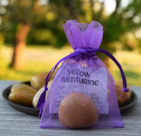 YELLOW AVENTURINE Solar Plexus Stone - Confidence & New Beginnings