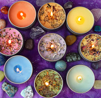 LETTING GO Candle - Intention Candle Release & Create Space For What You Desire - Full Moon Candle