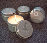 Cool A.F. Candle Set of 4 - Calm The F Down, Chill The F Out, Get Your Fing Shine On, Zen A.F.