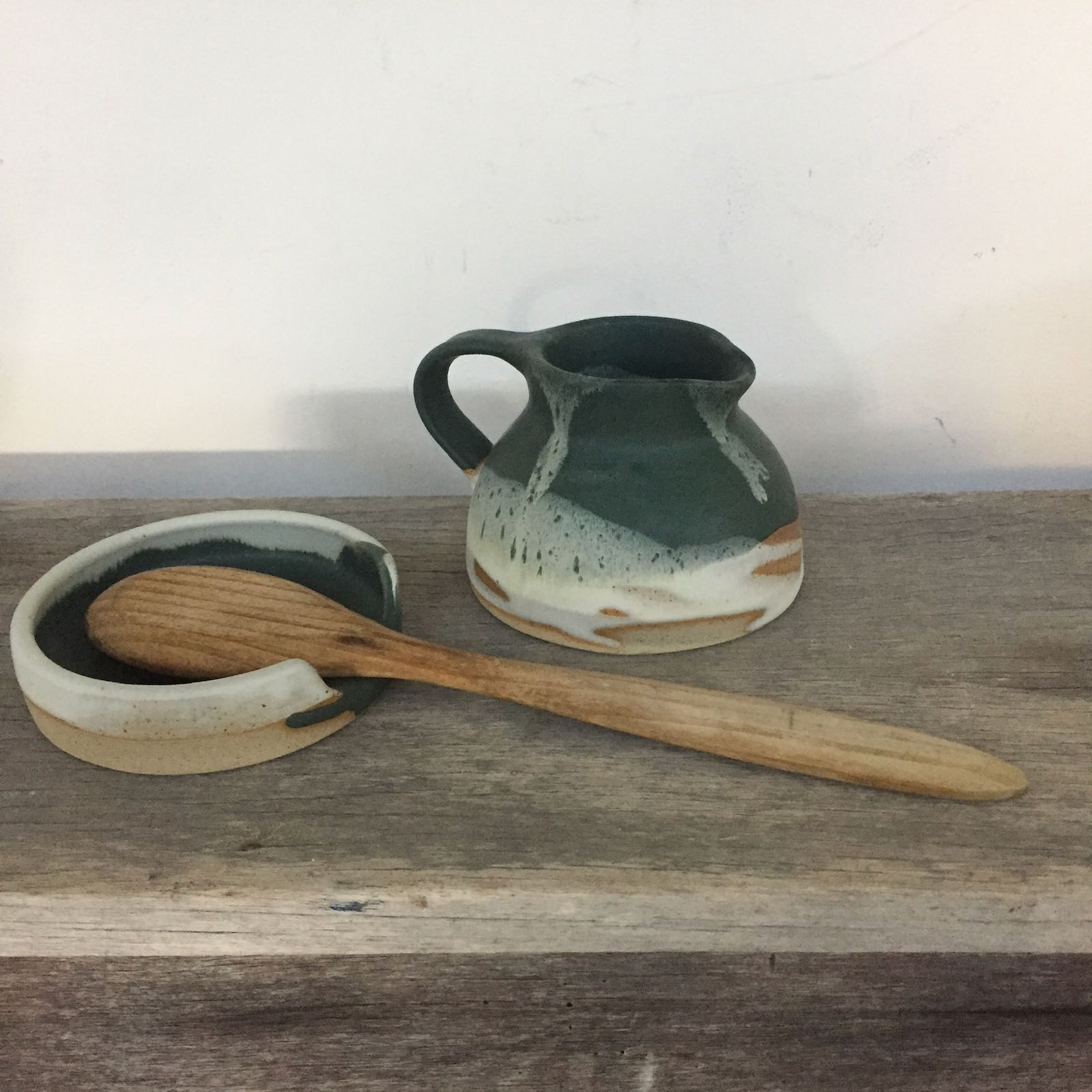 The Gravy Jug with Spoon Rest