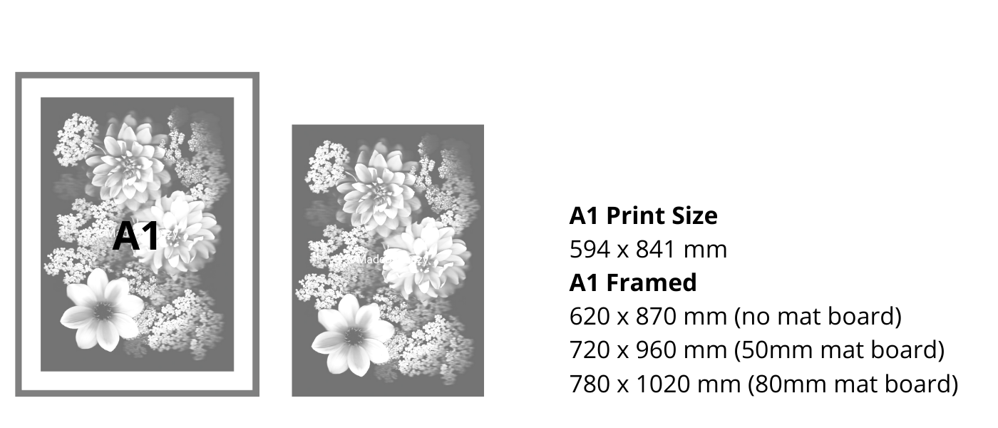 A1 Size Guide