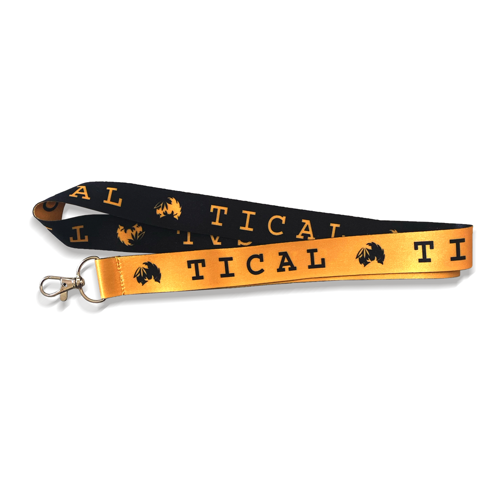 TICAL Lanyard Yellow and Black