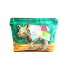 Load image into Gallery viewer, Wild Warrior Rhino Toiletry Bag