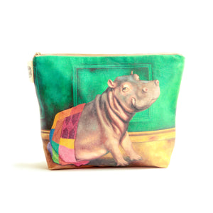 Wild Warrior Hippo Toiletry Bag