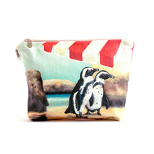 Load image into Gallery viewer, Boulders Penguins toiletry bag