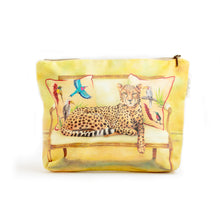 Load image into Gallery viewer, Cheetah Toiletry bag