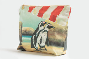Boulders Penguins toiletry bag