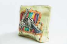 Load image into Gallery viewer, Zebra Toiletry Bag