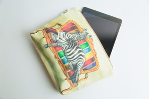 Zebra Toiletry Bag