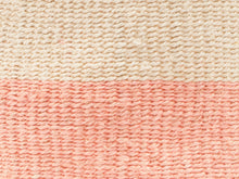 Load image into Gallery viewer, JIONI: Dusky Pink Colour Block Woven Basket