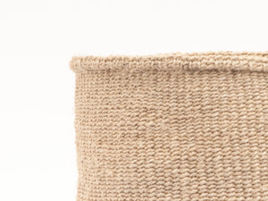 MBILI: Two Tone Woven Storage Basket