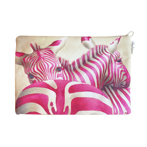 Pink Zebra : Laptop Bag