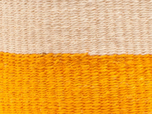 Load image into Gallery viewer, RUKIA : Orange Colour Block Woven Basket