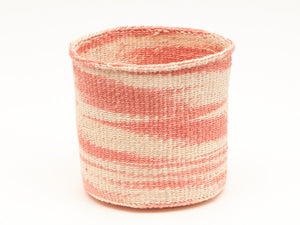 SAUTI : Dusky Pink Cloud Woven Storage Basket (3 variant)