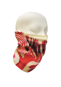 Multi-purpose headband-Pink Zebra Face Mask