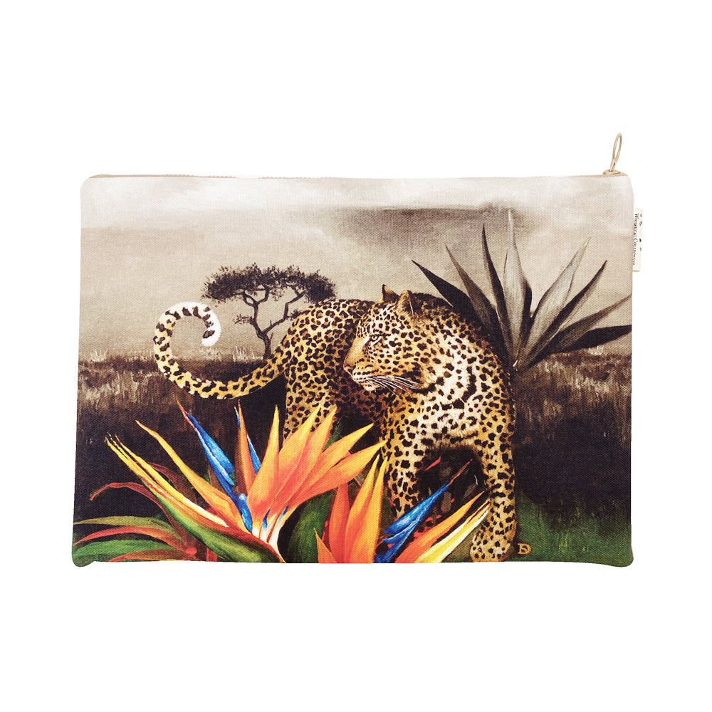 African Spirit Leopard : Laptop Bag
