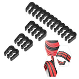 16Pcs/Set Cable Comb/Clamp/Clip/Organizer/for 2.5-3.2mm PC Power Cable Wiring 4/6/8/24 Pin Computer Cable Manager
