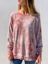 Load image into Gallery viewer, GOOD HYOUMAN GRATITUDE TIE DYE SWEATSHIRT