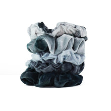 Load image into Gallery viewer, KITSCH 5-PACK SCRUNCHIES - SLATE