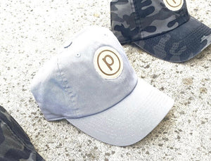 Cloud Blue/Grey Logo Hat
