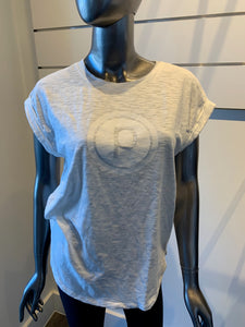 PURE BARRE WHITE LOGO TEE