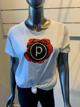 Load image into Gallery viewer, PURE BARRE FLOWER LOGO TEE