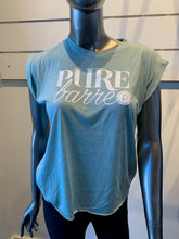 Load image into Gallery viewer, PURE BARRE SHORT SLEEVE MUSCLE TEE