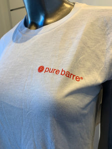 PURE BARRE SHORT SLEEVE MUSCLE TEE