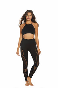 NUX SEAMLESS PERFORATED LEGGING