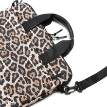 Load image into Gallery viewer, VOORAY LAPTOP SLEEVE 15' - CHEETAH